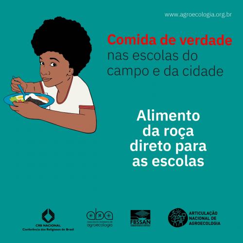 PNAE | Pesquisa analisará a importância de alimentos da agricultura familiar e agroecológicos na alimentação escolar