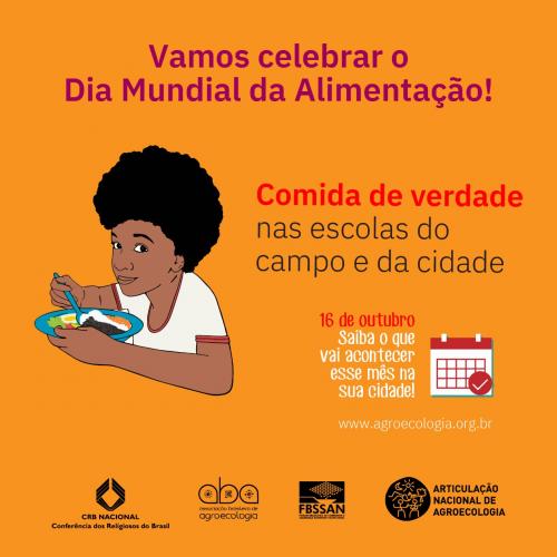 DIA MUNDIAL DA ALIMENTAÇÃO | Projeto Comida de Verdade nas Escolas do Campo e da Cidade é lançado no município de Remanso (BA)