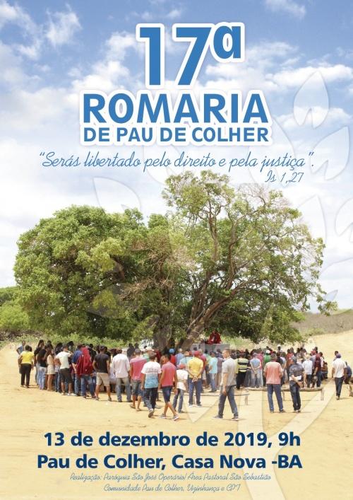 17ª Romaria de Pau de Colher acontecerá na próxima sexta-feira (13)