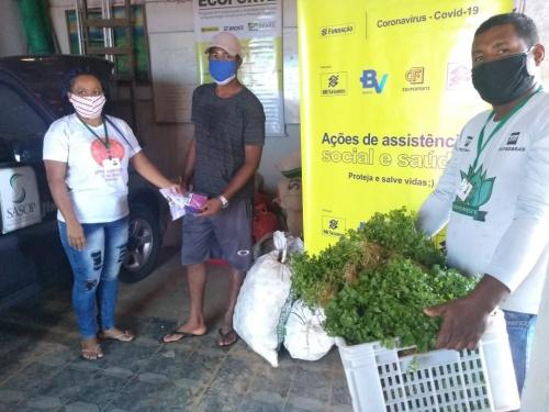 Cestas agroecológicas beneficiam 600 famílias do Baixo Sul