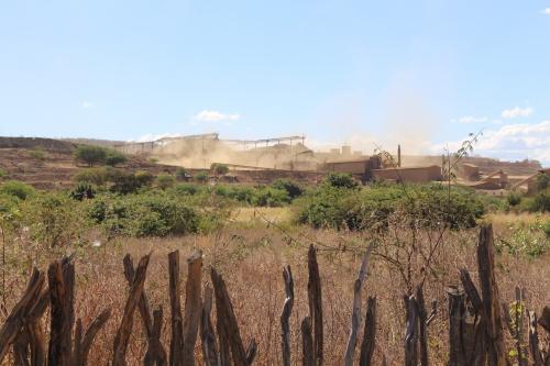 MINERAÇÃO | Uso de explosivos aterroriza comunidade de Angico dos Dias