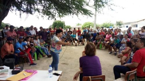 JUVENTUDE | Deputada Neusa Cadore e a suplente Elisângela Araújo visitam Pilão Arcado