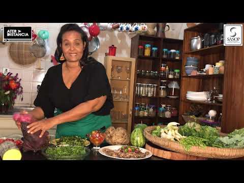 """Série """"Na Cozinha"""": Segurança Alimentar e Nutricional com a nutricionista Veranúbia Mascarenhas."""