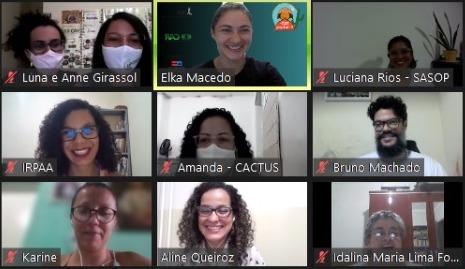 Roda de diálogo possibilita troca de saberes sobre aprendizados e desafios da comunicação na pandemia